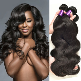 Wholesale 8A Brazilian Hair Body Wave Bundles Real Unprocessed Brazilian Human Hair Extension African American Hair Weaves Bellqueen Hair Products