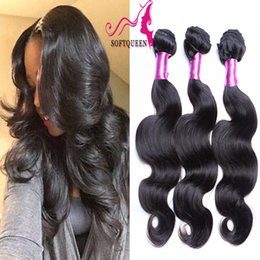 Wholesale 7a Best Virgin Peruvian Hair 8-28inch Cheap Body Wave Remy Virgin Hair Weaves Wavy 100% Brazilian Human Hair Extensions