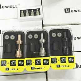 Wholesale UWELL CROWN Sub Ohm Tank Temperature control Duall coils ohm ohm clone VS Arctic Herakles Zephyrus TFV4 Triton atomizer RDA dhl