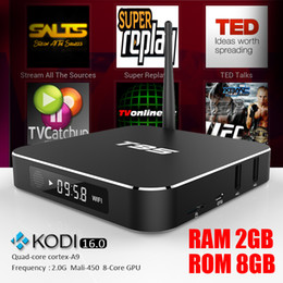 Wholesale T95 Android Tv Box GB GB Installed Kodi Bluetooth Best Media Player S905 Quad Core With LED Display