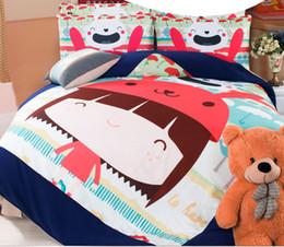 Wholesale-2015 Korea Cotton Cartoon series bedding bed sheet Bedding bag pillow cover single twin full queen bed Supplies