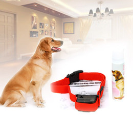 Spray Dog Training Smart Belt Dog Belt Collar Professional Control Training Shock Safe Spray Black Red