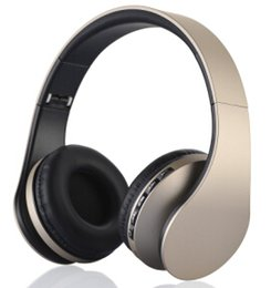 Wholesale-High Fidelity Surround Sound Noise Cancelling Wireless Stereo Bluetooth Headphone Headset With Mic, Support TF Card, FM Radio