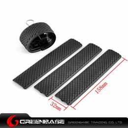 Wholesale Drss Ladder Slots Low Profile Flexible Soft Rail Covers per pack Middle Length Black For Handguard NGA0872