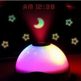 Wholesale Alarm Clock Magic LED Color Change Projection Projector