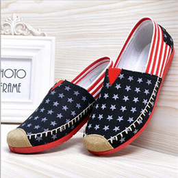 HOT!! New summer fashion womens canvas flat shoes women flats ballet flats casual flats shoes British style Dancing shoes M32187
