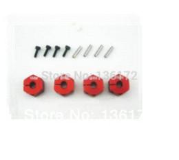 Wholesale RC hobby car parts Aluminium alloy MM wheel nuts for RC car sets