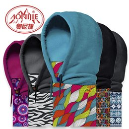 Wholesale Winter Outdoor Windproof Warm Fleeces Hoodies Scarf Face Guard Neckerchief Headgear Styles For Your Choice