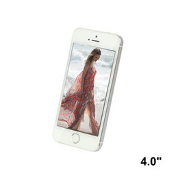 Wholesale i5 Smart Phone Cell Phone MTK6572 Quad Core Android5 MP WCDMA Real GRAM GBROM