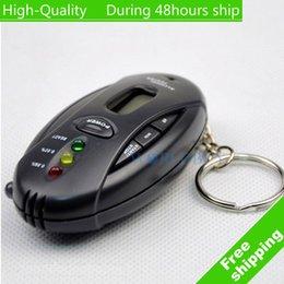 Alcool trousseau à vendre-Qualité numérique LCD Analyzer gros haut ALCOTEST ivressomètre avec porte-clés Livraison gratuite UPS DHL HKPAM