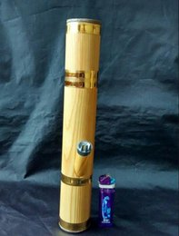 Wholesale Imitation wood color characteristics hookah bong height cm diameter cm color random delivery