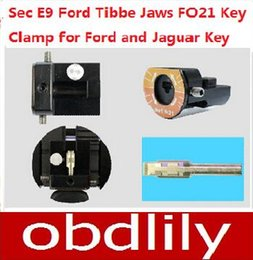 Wholesale SEC E9 Key Cutting Machine Parts Ford Tibbe Jaws FO21 Key Clamps Special for Ford and Jaguar Key
