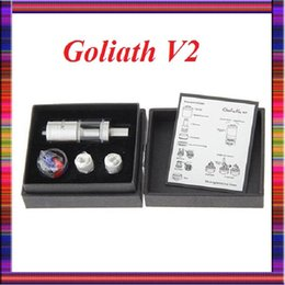 Billow v2 en Ligne-Youde Goliath V2 RTA atomiseur Refactable Goliath II atomiseur Contrôle du flux d'air RTA goliath V2 VS Smok tfv4 réservoirs Billow v2 nano