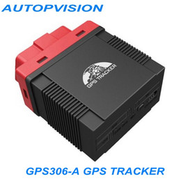Wholesale GPS Tracker GPS306 A OBD Data LBS Voice Monitor Real time Tracking With Best Quality