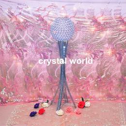 Crystal ball wedding centerpiece,flower ball for wedding decor