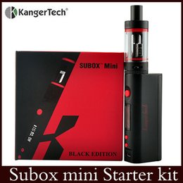 kanger subox Mini Starter Kit Kangertech OCC coils Subtank Mini Kbox 50w box mod vs joyetech ego one kit Triton tank 0266016 -4