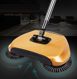 Wholesale Pushing Whirl Wind Sweeper Vacuum Cleaners Perfect Household Floor Cleaning Exprerience Don t Bend No Electricity Broom
