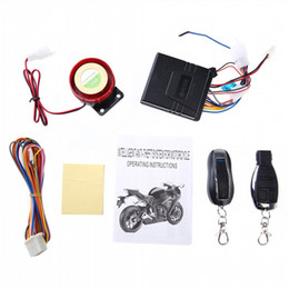 Wholesale NEW FEYCH Set Motorcycle Bike Anti theft Security Alarm System Remote Control Engine Start V Multifunctional Anti cut Scooter Alarm