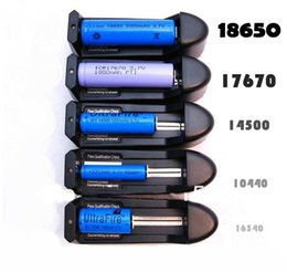 Lithium Battery Charger 18650 18350 14500 16340 Rechargeable Dry Li-ion Battery US EU Wall Charger for Electronic Cigarette kit E Cig Mod