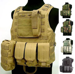 Wholesale Fall Waterproof USMC Ciras Tactical Vest colete Airsoft Tactical Military Molle Soft Body Armor Plates Carrier Vest Military Uniform