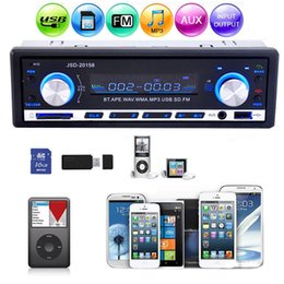 Wholesale JSD Car Stereo Audio Bluetooth In Dash FM Aux Input Receiver SD USB MP3 Radio Player