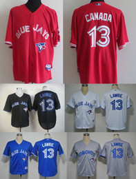 Wholesale Toronto Blue Jays Brett Lawrie canada White GRAY Blue Red black Home Road Cheap American baseball jerseys Embroidery Logo Mix Order