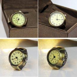 Wholesale 10pcs Quartz Watch Unisex Finger Ring Watch for Man Woman swj006