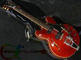 NEW Custom Shop 335 guitar jazz Electric Guitar with Tremolo system p90 electric guitar for sale
