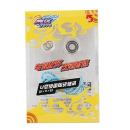 Comercio al por mayor-Libre AODA Marca en forma de U reemplazo Yo-Yo cojinete de cerámica rodamientos de bolas 5 x 11 x 5 mm + String desde rodamientos 5mm fabricantes