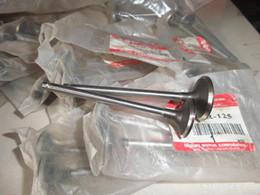 piezas de la motocicleta al por mayor de Corea del Sur-Wang Wang GS125R GSR125 Suzuki válvulas de admisión y escape de la válvula imagen clara valve suzuki for sale desde suzuki válvula proveedores