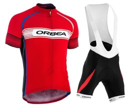 2015 Orbea rouge Cycling Jersey Bicycle Breathable Racing Bicycle Clothing Quick-Dry Lycra GEL Pad Race MTB Bike Bib shorts