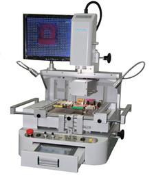 Wholesale 2016 HOT BGA rework station HT R690 Rework Station Optical bits of hot air rework station touch screen motherboard repair workbench solderin