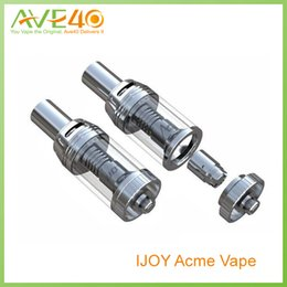 Wholesale Acme Vape Tank E Cigarettes Airflow System Sub Ohm Tank ml fit w vs Herakles Arctic for ESP Snow wolf Sigelei w w IPV from IJOY