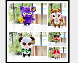 Wholesale LOL League of Legends Annie Bear Kennen Teemo Panda Lee Sin Styles Plush Toys and Dolls