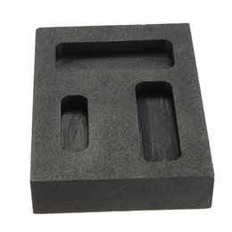 Wholesale Silver Gold Melting Casting Refining Scrap Graphite Ingot Bar Combo Mold High Quality