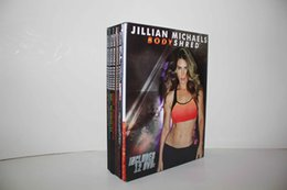 Wholesale 2015 Best Price Jillian Michaels BODYSHRED Workout DVD Base Kit BONUS DVD DVD INCLUDED Fitness workout BRAND NEW Fast DHL