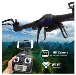 Wholesale New professional drones DM007 wifi FPV rc drone with camera HD G CH RC FPV quadcopter with camera HD flying camera helicoptero DHL