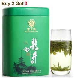 Wholesale Chinese Longjing Green Tea Buy get With Box Tea Top Grade Green Tea Slimming Benefits Best Gifts