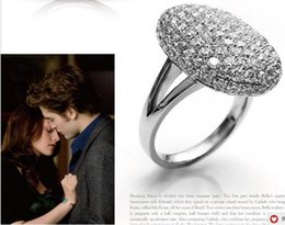 Wholesale Twilight Crystal Wedding Rings Eclipse of The Moon Bella Engagement ring Diamonds B14