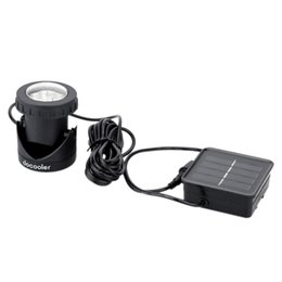 Wholesale Outdoor Solar Powered LED Spotlight Garden Pool Waterproof Spot Light Lamp Freeshipping Dropshipping H8855