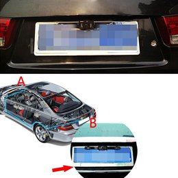 Wholesale Waterproof Car License Plate Frame Rear View Camera P HD Vehicle Back Front Side View Color Infrared LED Night Vision K2001