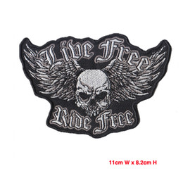Iron On Patches Mix Embroidered Fabric Patches For Motorcycle Badges Custom Embroided Patch New Hot Sale