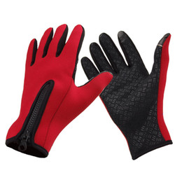 Wholesale New Windstopper Snowboard Outdoor Sports Gloves Skiing Riding Cycling Bike Gloves Windproof Winter Thermal Warm Touch Screen Gloves H12646