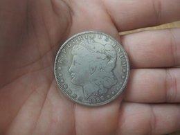 Wholesale silver Plated Collectible craft Souvenir Morgan coin commemorative plaque festschrift monnaie US