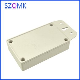 10 pcs  lot, hot selling electrical instrument enclosure boxes 122*61*27mm plastic enclosure box switch box, szomk enclosure box