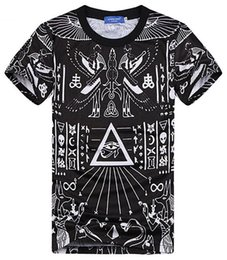 Wholesale Mikeal Harajuku style New Europe and America pop elements Fashion printing short sleeve T shirt Men women t shirt