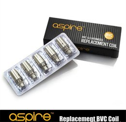 Wholesale In Stock Aspire BVC Replacement Coils for Aspire BDC Atomizer Aspire BVC Coil Aspire Coil Head For CE5 ET CE5S ETS vivi nova Clearomizers