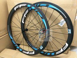 2016 style white blue FFWD F5R 38mm clincher or tubular bicycle wheels white logo fast forward 700c carbon fiber road bike racing wheelset