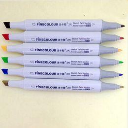 Finecolour Alcohol 48 Colors Copic Markers Color Pencil Sketch Copic Sketch Marker Sets Coloring Permanent Color Pen Sketch Markers