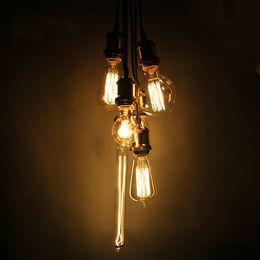 Wholesale 40W W Filament Light Bulbs Vintage Retro Industrial Style edison Lamp E27 Antique Lamp Light Edison Light Bulb